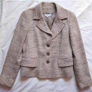 Vintage Gerard Darel Boucle/Tweed Blazer 40